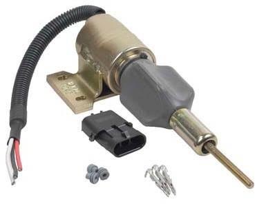 New Fuel Shut Off Solenoid Case Loader 570Lxt 580L 580 Super