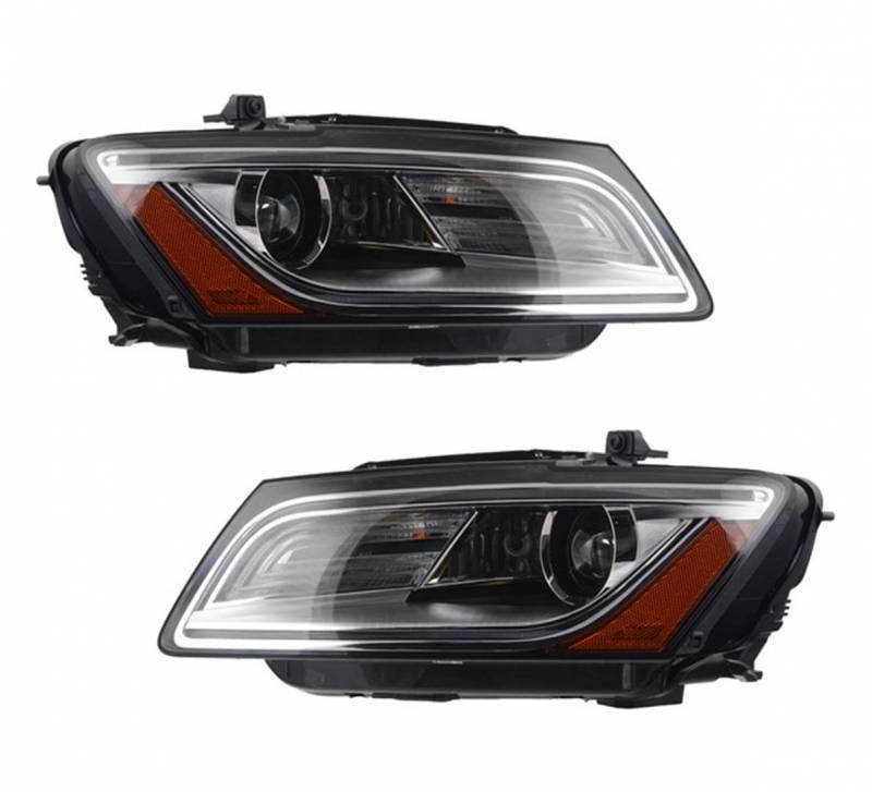 New Oem Valeo Bi-Xenon Afs Headlight Pair Fits Audi Q5