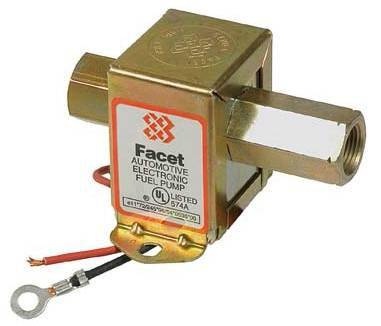 NEW 12V FACET POSI-FLO SOLID STATE FUEL PUMP ALL CARBURETED ENGINES FACET 40106