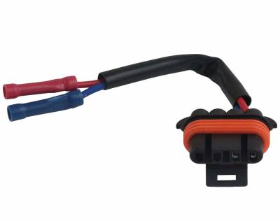 rareelectrical com on Mack Truck Engine Wiring Harness for new regulator 2 wire lead fits mack truck alternators ct ctp cv 19020900 8600016 at 92 Mack Truck CH613 Wiring