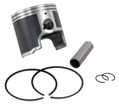 NEW PLATINUM PISTON KIT COMPATIBLE WITH .5MM OVER YAMAHA 97-00 WAVE RUNNER 97 WAVE VENTURE 760