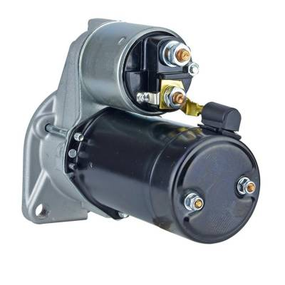 Rareelectrical - New 12V Starter Fits Ruggerini Engine Md150 Md151 2-Cyl Diesel 1987-1997 D6ra60