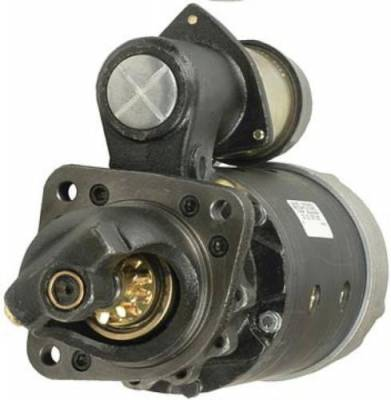 Rareelectrical - New Starter Motor Fits White Tractor 2-110 2-88 Perkins 323835 323868 1990326 1990318