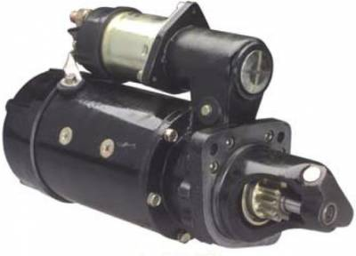 Rareelectrical - 24V Starter Motor Fits Caterpillar Excavator 214B El200 El200b 3116 Eng 8C4774 8C4775