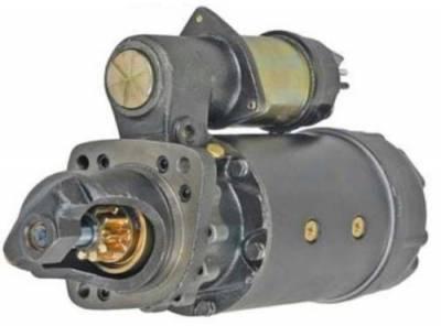 Rareelectrical - New 24V 10T Cw Starter Motor Fits John Deere Marine Engine 6076Afm 10461457 10461457