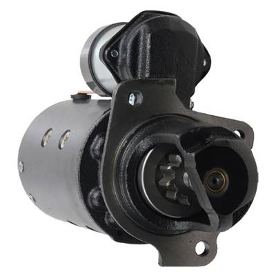 Rareelectrical - New 10T Starter Fits Massey Ferguson Crawlers Mf-200 72-77 Mf-2244 66-71 1107868
