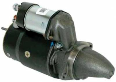 Rareelectrical - New Starter Motor Fits Mercruiser Stern Drive 165 170 180 190 3.7L 470 488 Mercury 3.7L 224Ci 4Cyl