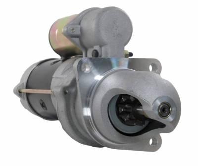 Rareelectrical - Starter Fits Allis Chalmers Forklift Ac-C 35 40 45 55 D-175 1109550