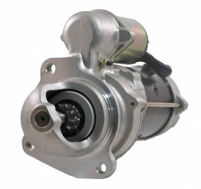 Rareelectrical - New 12V 10T Starter Motor Fits 92-99 Ford Hd Truck F900 F800 F700 F600 F3ht11001ac