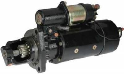 Rareelectrical - New 12V 12T Cw Dd Starter Motor Fits Peterbilt Truck 377 378 379 10461228 3675128Rx