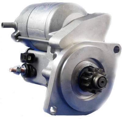 Rareelectrical - New Starter Motor Fits Yanmar Tractor Marine Engine 2Qm15 2T73 2Tm15 Qm15 Ya Yc Ym...