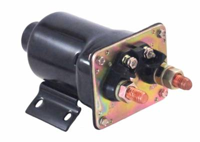 Rareelectrical - New Solenoid Fits 40Mt Starter Motor Delco 1113406 1113475 1113500 1113543