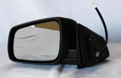 TYC - New Lh Door Mirror Fits Mitsubishi 08-11 Lancer Power W/O Heat Mi1320129 Mt23el