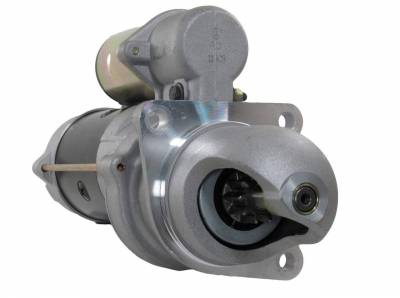 Rareelectrical - New Starter Fits 12V 10T Case Applications Delco Systems Replaces 323-487 323-419 323-487