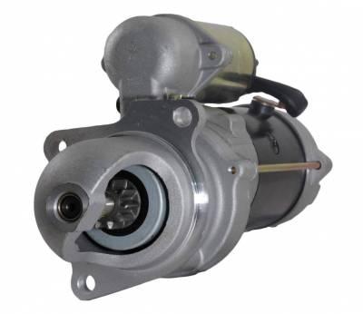 Rareelectrical - Starter Motor Fits 92-99 Ford School Bus B600 B700 B800 5.9 10465151