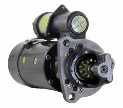 Rareelectrical - New 24V Cw Dd 10 Tooth Starter Motor Fits Fiat-Allis Crawler Fd-7 Fd-9 Diesel 1993914
