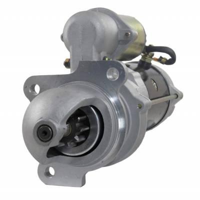 Rareelectrical - New 12V 10T Starter Motor Compatible With Clark Skid Steer Loader 2000 Perkins 4-154 1998359 Ac