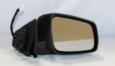 TYC - New Rh Door Mirror Fits Mitsubishi 08-11 Lancer Power W/ Heat Mi1321132 7632A096  Mi1321132 Mt26er