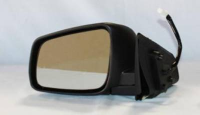 TYC - New Lh Door Mirror Fits Mitsubishi 08-11 Lancer Power W/ Heat Mi1320132 Mt26el