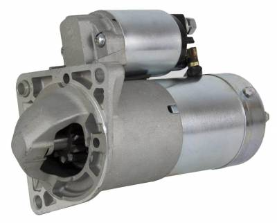 Rareelectrical - New Starter Motor Compatible With European Model Saab 9.3 1.9L Turbo Diesel 2004-On M1t30171