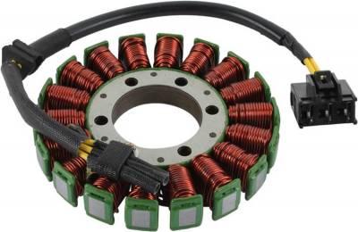 Rareelectrical - New Stator Coil Fits 2006 2007 Honda Cbr1000r 31120-Mel-D21 31120-Mel-D22 75-1015 751015