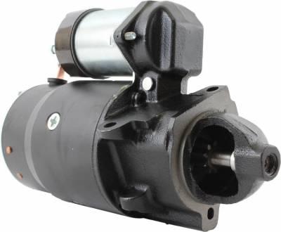 Rareelectrical - New 12V Starter Fits Gmc Van G1500 G2500 G3500 P1500 P2500 P3500 1109029 1109067