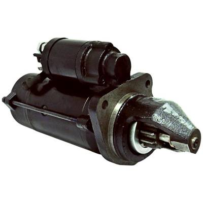 Rareelectrical - New 12 Volt 10 Tooth Starter Compatible With Claas Agricultural Tractor Arion 410 420 By Part Number