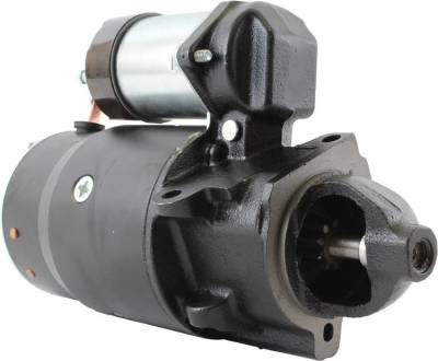Rareelectrical - New Starter Fits Pontiac Firebird Sunbird Super Chief Lemans V8 1998239 1977070