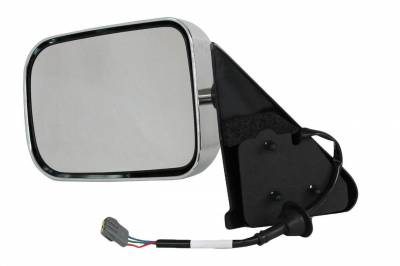 TYC - New Lh Door Mirror Fits Dodge 97 Ram 1500 2500 3500 4000 Power W/O Heat Ch1320132 Ch1320132 55076613