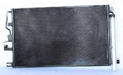 Rareelectrical - New Ac Condenser Fits Pontiac 06-09 Torrent 3.4L V6 15-63245 P40491 7-3468 Gm3030274