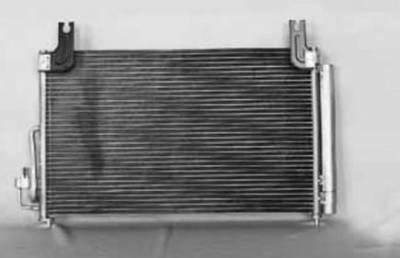 TYC - New Ac Condenser Fits Kia 03-05 Rio Cinco Ki3030113 97606Fd000 P40387 640345 7-3263 P40387 10355