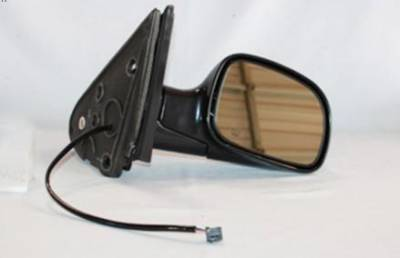 Rareelectrical - New Door Mirror Pair Fits Chrysler 01-07 Town & Country Dodge Caravan Power W/ Heat Ch1321199