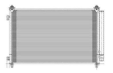 TYC - New Ac Condenser Fits Mazda 07-12 Cx-9 Pfc Td1161480a Ma3030155 7-3613 4563 6188 Td1161480a