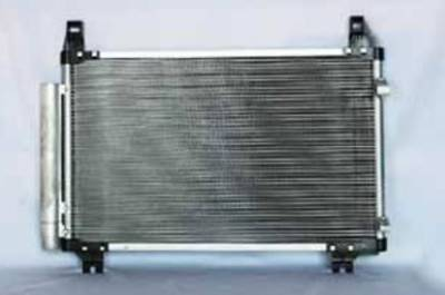 TYC - New Ac Condenser Fits Toyota 07-12 Yaris Pfc W/ Receiver/Dryer To3030208 8846052130 P40515 To3030208