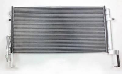 Rareelectrical - New Ac Condenser Fits 20007-2009 Hyundai Santa Fe Pfc Block Fitting 976062B000 P40534 976062B000