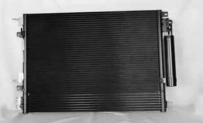 TYC - New Ac Condenser Fits Dodge 05-10 Challenger Charger Magnum Standard 5137693Ad 3188 P40403 5137693Ab