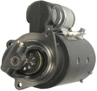 Rareelectrical - New 12V 10T Cw Dd Starter Motor Fits White Truck 6-354 Perkins Engine 1113641