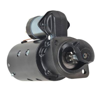 Rareelectrical - New 9 Tooth 12V Starter Fits Lombardini Applications By Number 1998390 1109499