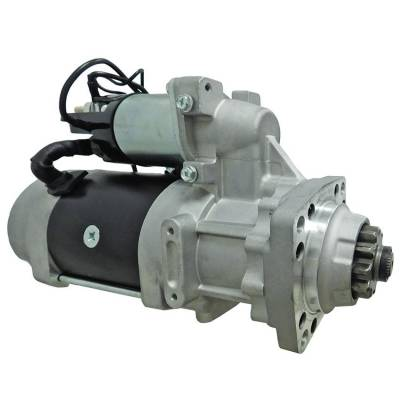 Rareelectrical - New 12V Starter Fits Paccar Cummins Isx 11.9L Industrial Engines 8200960 8200971 8201082 8201083