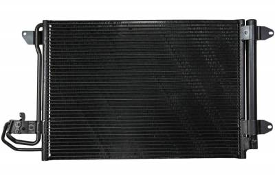 Rareelectrical - New A/C Condenser Fits 2010-2013 Volkswagen Golf P40452 1K0-820-411-Q Vw3030127