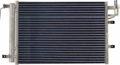 Rareelectrical - New Ac Condenser Fits 2005-2006 Kia Spectra5 2004-2006 Spectra New Style P40410 P40410 10356