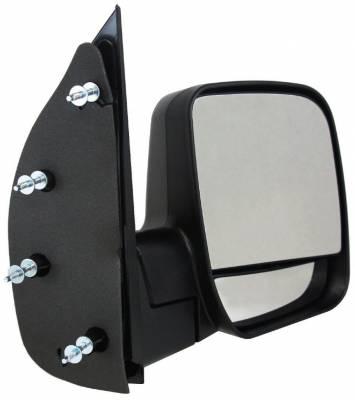 TYC - New Rh Door Mirror Fits Ford 03-04 Econoline Super Duty Dual Glass Fo1321253 61119F Fo1321253