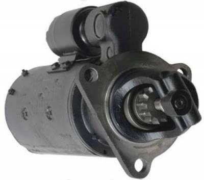 Rareelectrical - New 12V 12T Starter Motor Fits International Payscraper E-200 Dt-407 1113412 1113675