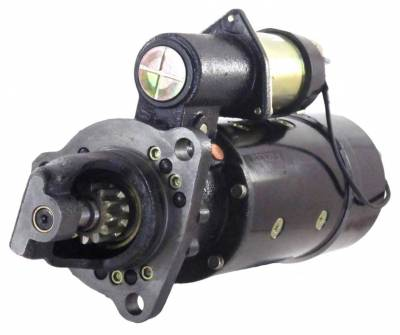 Rareelectrical - New 12V Starter Fits Kenworth Heavy Duty Truck Cummins Engines 1968-1974 Ms1410a