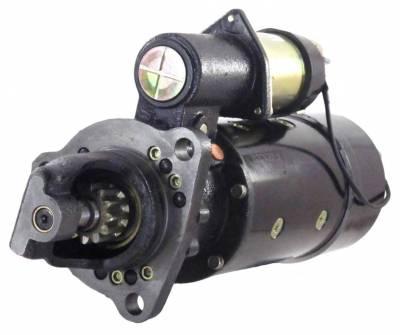 Rareelectrical - New Starter Fits Peterbilt Heavy Duty Models Cummins Engine C8-210 72-78 Ty1902