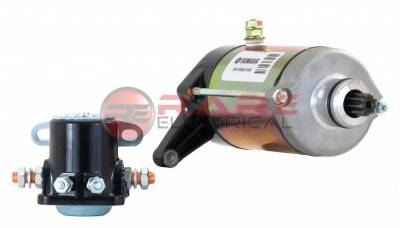 Rareelectrical - New High Performance Legend Car Fj1100 1200 1250 Yamaha Engine OEM Starter Motor Compatible With