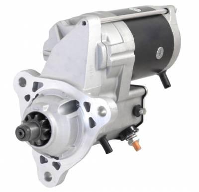 Rareelectrical - New 24V 10T Cw Starter Motor Fits Iveco Eurotrakker Mp 190 260 340 380 410 42498115