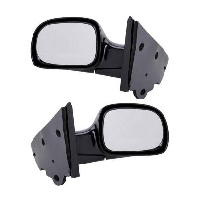 Rareelectrical - New Pair Of Door Mirrors Fits Chrysler Town & Country 01-07 4894411Ab 4894410Aa