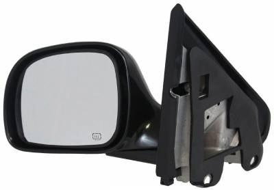 TYC - New Lh Door Mirror Fits Chrysler 96-10 Town & Country Caravan Voyager Power W/ Heat Ch1320141