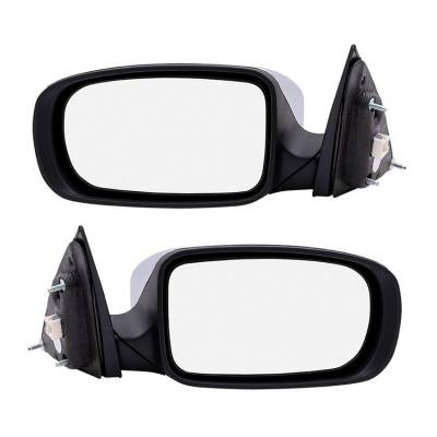 Rareelectrical - New Pair Of Door Mirrors Fits Chrysler 200 Limited 2011-14 68081541Ad 68081540Ad
